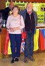 KAREL LORPAIS  s manželkou při vernisáži fotografií z projektu Sen o Dakaru.