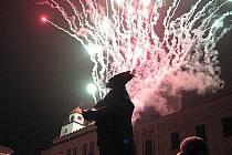 Novoroční oslavy v Novém Jičíně