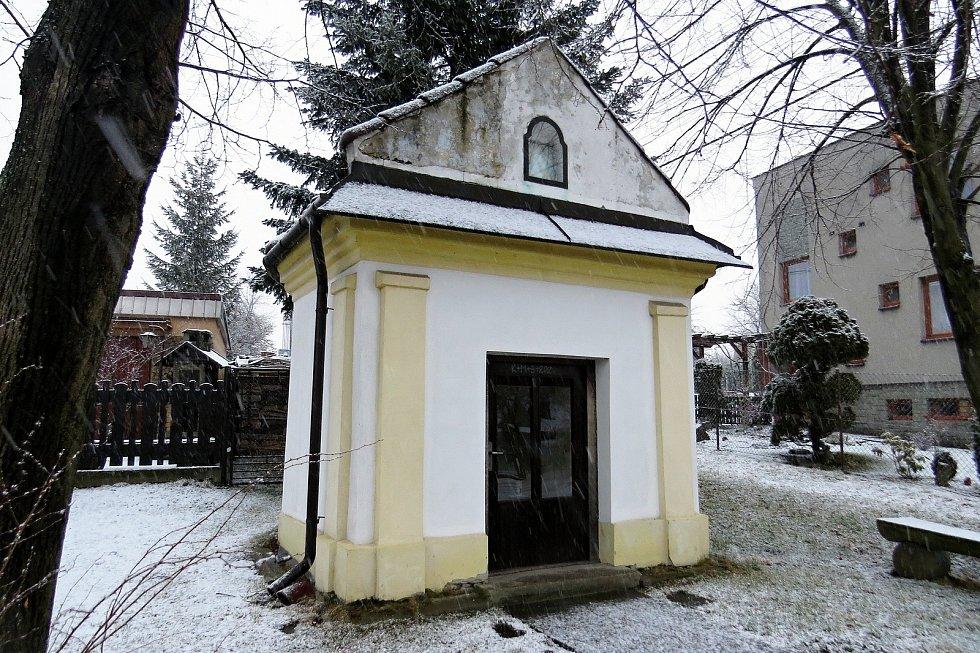 Kaple Panny Marie Bolestné je kulturní památkou.