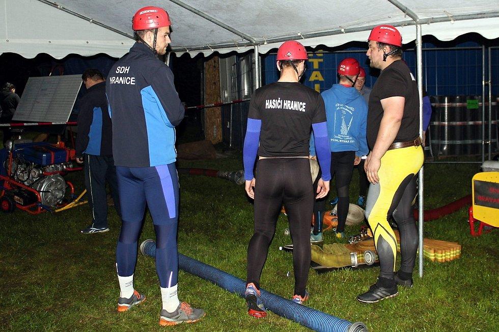Noční hasičská soutěž v Odrách se uskutečnila již poosmadvacáté.