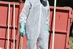 Fyzickou analýzu smíšeného odpadu pořádalo město Příbor vúterý 18. června dopoledne.