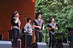 Revivalový festiválek se konal v příborském městském parku.