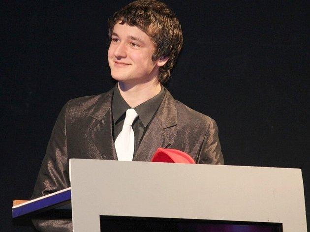 Vítěz čtenářské ankety Sportovní hvězda Deníku za rok 2012, ploutvař Petr Španihel.