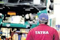 Kopřivnická automobilka Tatra Trucks patří k významným zaměstnavatelům na Novojičínsku. Ilustrační foto.