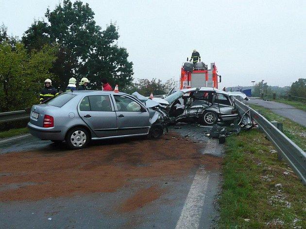 V pátek po sedmé hodině ráno došlo k tragické dopravní nehodě ve Studénce, ve směru na Novou Horku.