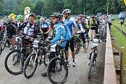 Kopřivnický drtič - vyjížďka, jejíž maximální trasa měří 130 kilometrů, se uskutečnila v sobotu 15. července. Zúčastnilo se na sedm stovek cyklistů.