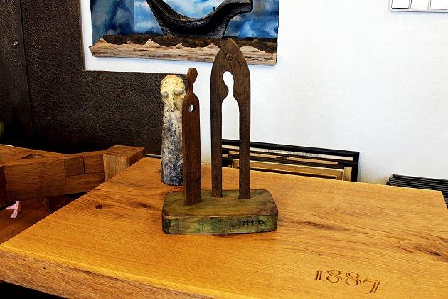 Model zvoničky vateliéru autora Pavla Cupáka.