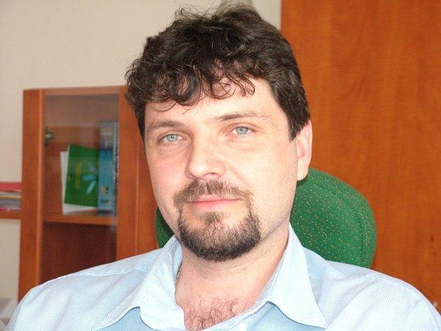 Starosta Sedlnic František Jordánek.