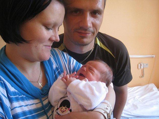 Sofie Kopelcová, Kopřivnice, nar. 13. 5. 2011, 51 cm, 3,40 kg, nemocnice Nový Jičín.