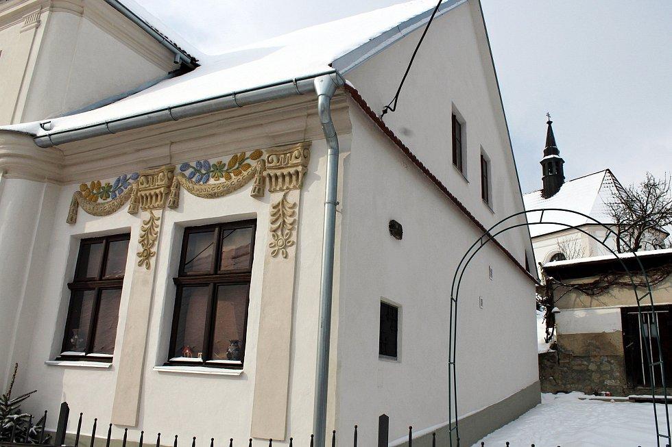 Dům v křivé ulici v Příboře se dostal do celorepublikového finále soutěže Památka roku 2020. Foto: Deník/Ivan Pavelek
