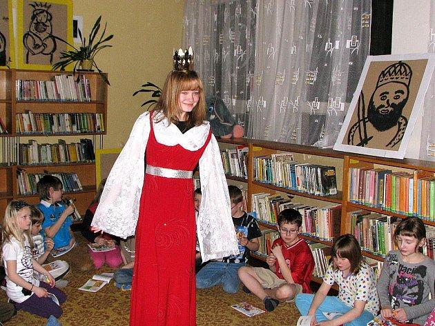 Jedním z míst, kde děti 1. dubna zažily Noc s Andersenem, byla také Městská knihovna Frenštát pod Radhoštěm.