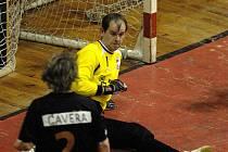 Brankář Jistebníku Petr Krayzel udržel v 15. kole první futsalové ligy čisté konto, a výrazně se tak podepsal na výhře s Pardubicemi.