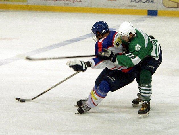 Hokejisté B týmu Nového Jičína doma porazili Bohumín.