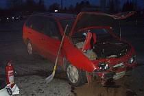 V pátek 1. února odpoledne se střetla dvě osobní vozidla na silnici 1/58, v křižovatce ve směru na Trnávku. Nehoda si vyžádala pět zraněných osob.