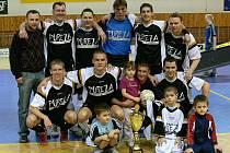 Vítěz krajského přeboru futsalu, tým Slávie Ostrava.