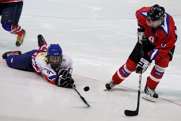 Hokejisté Nového Jičína po výhře nad Porubou porazili doma Uherské Hradiště.