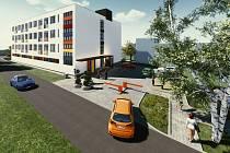 Foto: Vizualizace bývalého domu sester v Novém Jičíně, který se promění ve startovací byty.