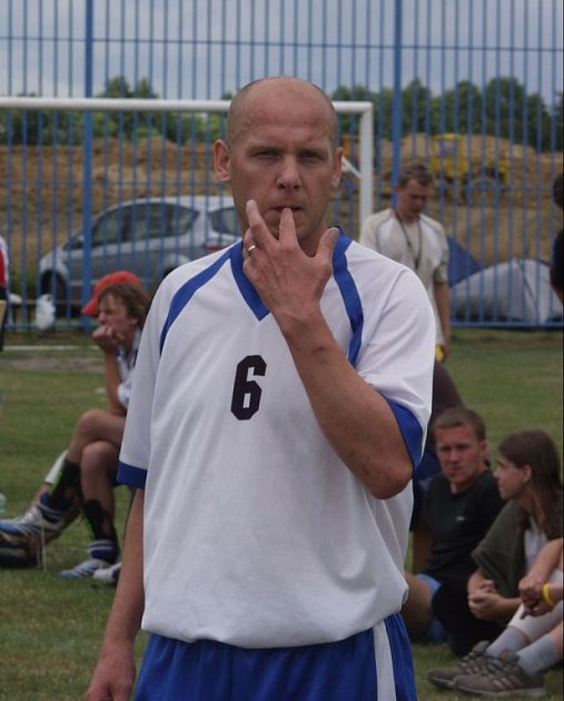 Trenér futsalistů Jistebníku Rostislav Brož.