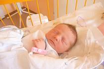 NATÁLIE RÝDLOVÁ, Nový Jičín, nar. 13. 8. 2013, 47 cm, 3,16 kg. Nemocnice Nový Jičín.