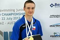 Z mistrovství světa juniorů přivezl Petr Španihel celkem tři medaile. V Grazu získal i svou první zlatou.