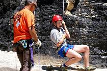 V okolí Štramberku je několik vynikajících lokalit pro vyznavače skalního lezectví.