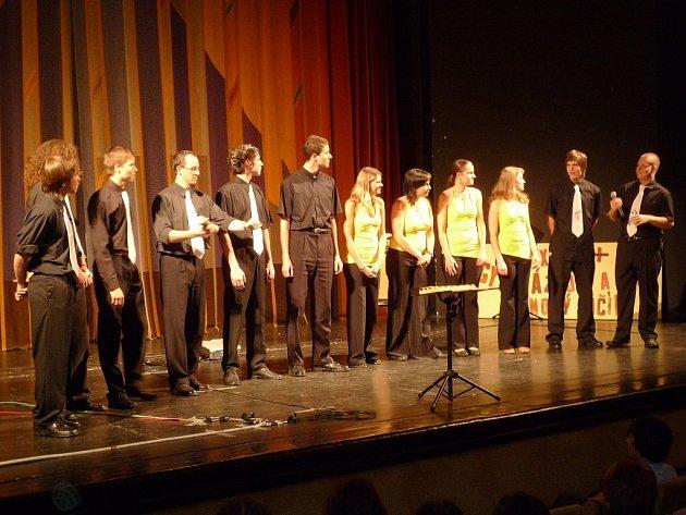Společné vystoupení Sextet+ a Detašé.