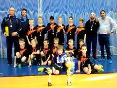 VÝBĚR fotbalových mladíků OFS Nový Jičín ovládl turnaj Moravskoslezského krajského fotbalového svazu.