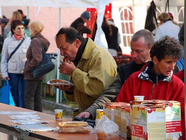 V sobotu 23. října proběhl v Novém Jičíně poprvé farmářský trh.