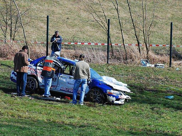 Před čtyřmi roky si nehoda na rally vyžádala tři oběti z řad diváků.
