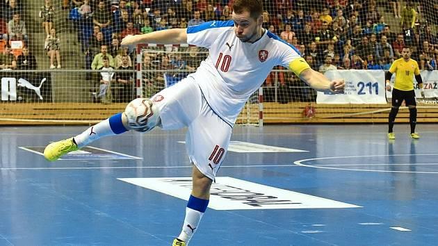 Michal Seidler v reprezentačním dresu