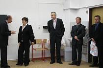 Oficiální část programu začala slavnostním projevem ředitele školy Bohumíra Kusého, kterého poté vystřídala náměstkyně hejtmana Moravskoslezského kraje Jaroslava Wenigerová.