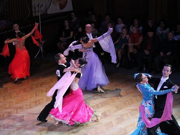 Taneční soutěž v Kopřivnici.