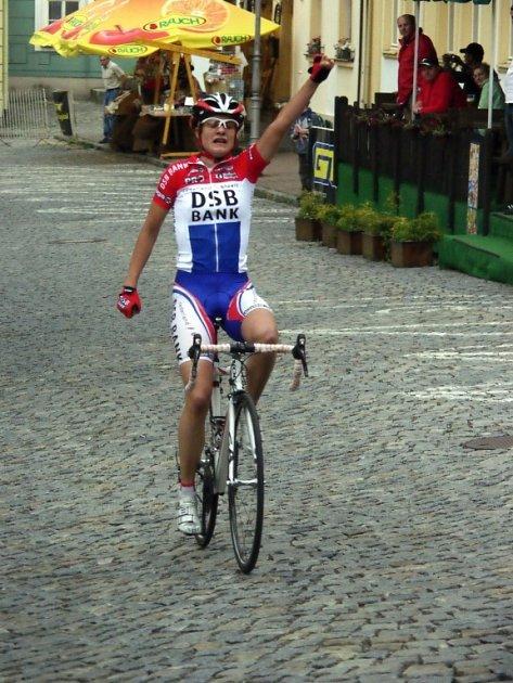 První etapa cyklistického závodu žen Gracia Orlová 2009.