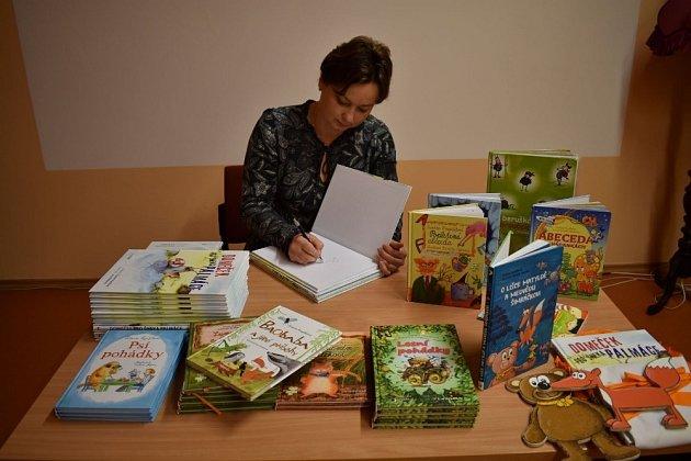 Zuzana Pospíšilová už má na kontě přes 250knih převážně pro děti.