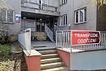 Vstup do současného transfuzního oddělení novojičínské nemocnice. Foto: archiv Nemocnice Nový Jičín