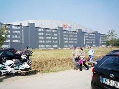 Budova společnosti Air Jobs v Mošnově u letiště.