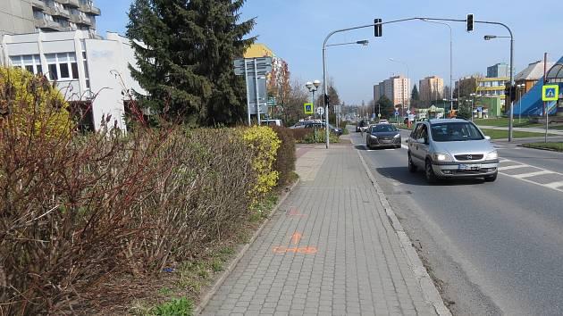 Nehoda se stala 29. března v ulici Záhumenní v Kopřivnici.