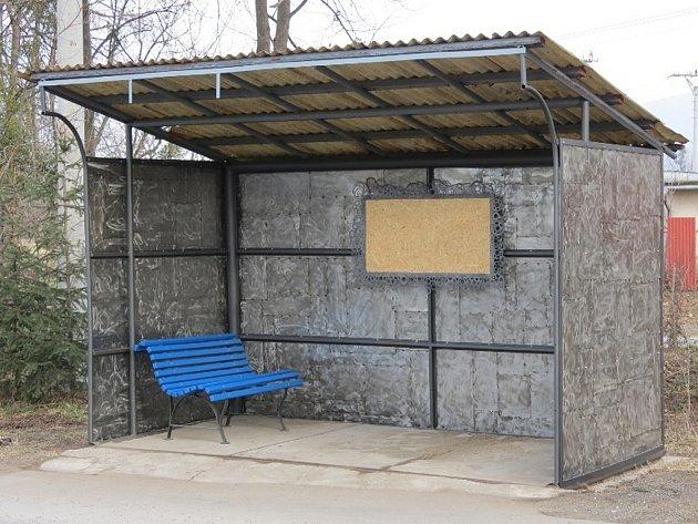 Takto tak vypadá autobusová zastávka dnes.