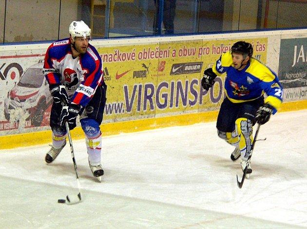 Hokejisté B týmu Nového Jičína doma prohráli se Studénkou.