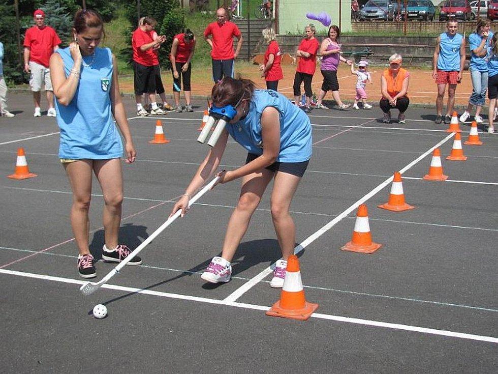 V sobotu 11. června se v Sedlnicích konal 13. ročník soutěže Hry bez venkovských hranic.