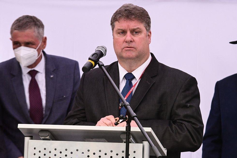 Příjezd slovenské strely ve čtvrtek 13. května 2021 do domácí Kopřivnice.