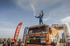 Skvělé druhé místo mezi kamiony vybojoval Tomáš Tomeček z Příbora v letošním ročníku závodu Africa Eco Race 2018.