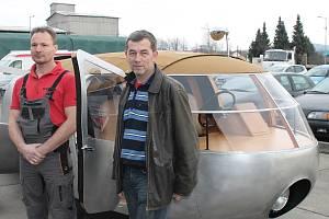 Dymaxion - unikátní tříkolka zamířila na Floridu.