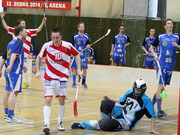 FBC Vikings Kopřivnice vs. Spartak Pelhřimov (2. zápas).