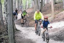 První Beskydský trail na Horečkách měří okolo tří kilometrů. Otevřený byl v roce 2014.