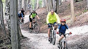 Cyklistické trasy v přírodě