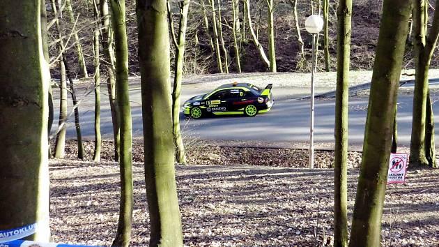 Loni se jela Kowax Valašská Rally ValMez také v Odrách.