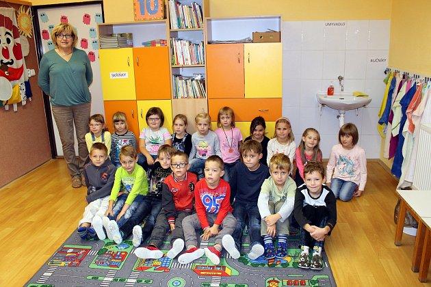 Žáci 1.Atřídy Základní školy T. G. Masaryka, Studénka, střídní učitelkou Stanislavou Figallovou.