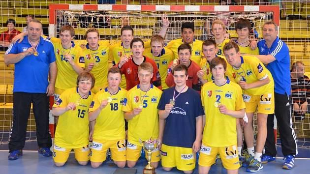 Starší dorostenci KH Kopřivnice vládli v České republice i v sezoně 2013/2014.