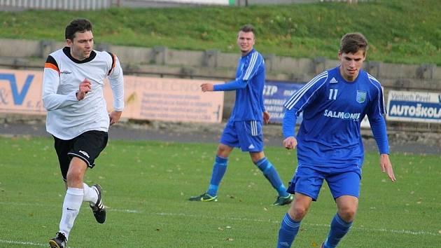 Snímky z utkání FK Nový Jičín – Lokomotiva Petrovice 2:1 (1:1).